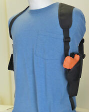 "Gun Shoulder Holster for COLT 45 1911 5"" BBL with Extra Mag Pouch Vertical Carry"