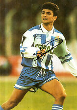 BRAZILLIAN STAR BEBETO HANDSIGNED COLOUR PHOTOGRAPH 8 x 6