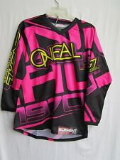 ONEAL O'neal Element YOUTH girl's jersey large motocross BMX 0017-704