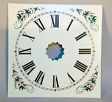 Faithfully Reproduced Painted Metal Dial for 30-hour OG, Ogee Weight Clock