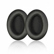 1 pair Black Replacement Cushion Ear pads For Audio Technical ATH-ANC7 ATH-ANC9