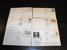 Collection of 5 1960 First Day of Issue Stamp Envelopes + One 1958