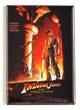 Indiana Jones and the Temple of Doom FRIDGE MAGNET (2 x 3 inches) movie poster