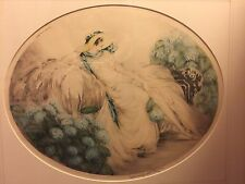 Louis Icart Colored Etching Hydrangeas Hand Signed Numbered & Windmill Stamp