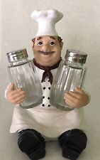 French Chef Pierre Glass Salt And Pepper Shaker