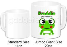 Personalised Gift Animal Cute Frog Jumbo Giant 20oz Mug Coffee Tea Novelty
