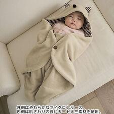 Yard Sales Infant Baby Swaddle Fleece Warm Blanket Hooded Wrap Sleeping Bag