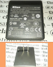 NIKON EH-68P 5V 0.5A USB Ac Adapter  Alimentatore POWER SUPPLY  coolpix