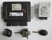 Original Usado Mini ECU + Lockset para R50 One 1.6i Manual de 2001 W10 - 7520673 #12