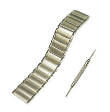 24mm Stainless Steel Watch Band Strap + Tool For Sony SmartWatch 2 SW2 Silver