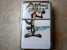 WILE E COYOTE CARTOON ROAD RUNNER STAR CIGARETTE LIGHTER & ZIPPO FLINTS