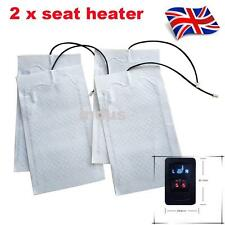 2 seats Universal Auto Seat heating Carbon heating mats Retrofit kit Cars heater