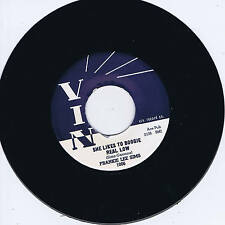 FRANKIE LEE SIMS - SHE LIKES TO BOOGIE REAL LOW (Low Down Dirty Blues Bop) Repro