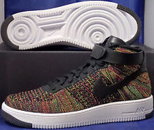 Nike Air Force 1 Ultra Flyknit Mid Multi-Color SZ 11 ( 817420-002 )