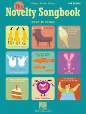 The Novelty Songbook 2nd Edition Sheet Music Piano Vocal Guitar Songbo 000490072
