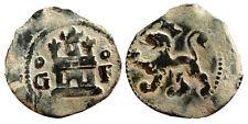FELIPE II - AÑO 1556-1598. 2 Cuartos. Cu. GRANADA. Lados del castillo Cº y Fº.