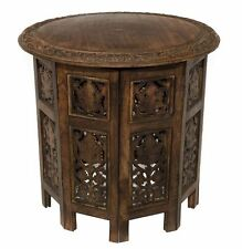 Small Accent Tables End Side Round Solid Wood Nightstand Bedroom Living Room NEW