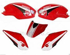 Conjunto de pegatinas blanco negro para Ducati Monster 696 796 1100