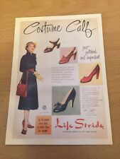 Retro Reproduction Advertising Themed Postcard - Life Stride Shoes - NEW
