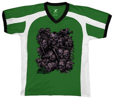 Zombie Skulls Heads Death Decay Plague Infected Scary  Retro Sport T-shirt