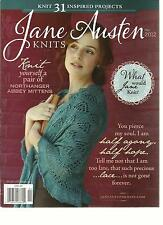JANE AUSTEN  KNITS, FALL, 2012 ( KNIT 31 INSPIRED PROJECTS )WHAT WOULD JANE KNIT