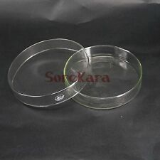 120mm Glass Reusable Tissue Petri culture dish Plate with cover For Laboratory