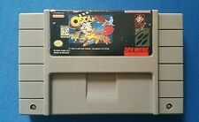 SNES Oscar- Plays Perfectly- Rare & Authentic- Ships Immediately!