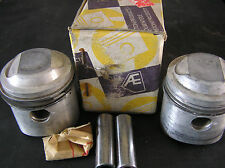 HONDA CB200 CL200 CB200T TWIN PISTON KITS (2) NOS +0.25mm