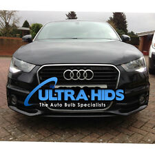 AUDI A1 W21 Led DRL DAY TIME RUNNING ERRORE CANBUS libero 6500K XENON Bianco T20 5 W