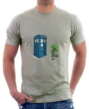 Doctor Who Legend Of Zelda Ocarina TARDIS zinc printed cotton t-shirt TC9730