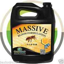 Massive Bloom Green Planet Nutrients 1 Gallon Bottle SAVE $$ W/ BAY HYDRO $$
