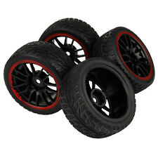 12mm hex RC Tires & Wheels For WLtoys Tamiya On Road Car 1/10 Scale