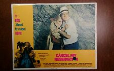1972 Original Lobby Card - Cancel My Reservation - 11x14, Bob Hope