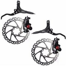Clarks M2 Hydraulic Disc Brake Set - Front + Rear Disc Brakes Black RRP£70
