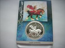 1 OZ SILVER COIN PROOF *HAND SIGNED* STEVE FERRIS *LADY GODIVA* NUMBERED #8