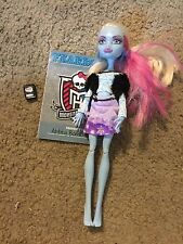 Nice Monster High Abbey Bominable doll girl Awesome!!
