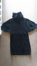 """Sisley Womens Short sleeved Jumper 36 """" chest s/m size 10 12"""