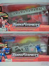 **RARE** Transformers RID 2001 Optimus Prime and Ultra Magnus Set of 2 UNOPENED