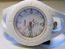 TOY WATCH J-LOOPED WHITE SILICON WATCH MODEL JLO1WH-NEW WITH TAGS-NO BOX