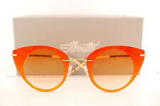 New Silhouette Sunglasses Felder Felder 9907 6051 Orange/Gold/Yellow For Women