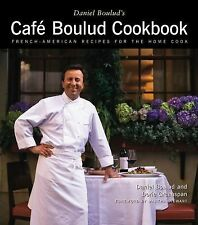 Daniel Boulud's Cafe  Cookbook Recipes Hardback Book French American Cooking