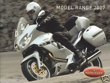 Motorcycle Brochure - Moto Guzzi - Product Line Overview - 2007 (DC152)