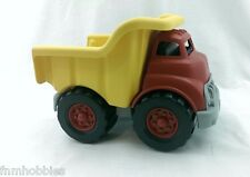 TOYS: Green Toys Dump Truck Red & Yellow CLEAN! 100% Recycled Earth Friendly