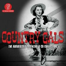 Country Gals ABSOLUTELY ESSENTIAL COLLECTION Best Of 60 Songs MUSIC New 3 CD