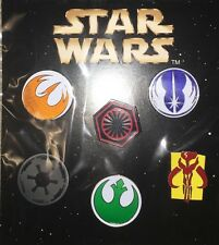 Disney Pins 2016 Star Wars Symbols  Booster Set
