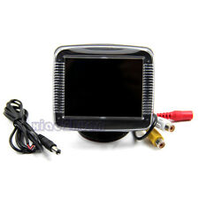 3.5 Inch TFT LCD Screen Monitor Reverse Camera Car Rear View Backup New