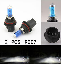 SUPER WHITE XENON HID HALOGEN HEADLIGHT BULB - LOW&HIGH BEAM 9007 HB5 5900K 12V