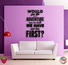 Wall Sticker Quotes Words Inspire Message Would You Like An Adventure Now z1500