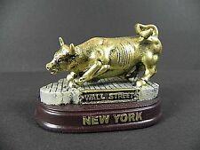 New York City Wall Street Bulle,Börse,8 cm Model,Souvenir Amerika USA,Neu