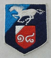 ORIGINAL Vintage THAI Made ROYAL THAILAND ARMY UNIT PATCH with WHITE HORSE